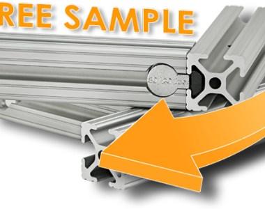 8020 Free Aluminum Framing Sample