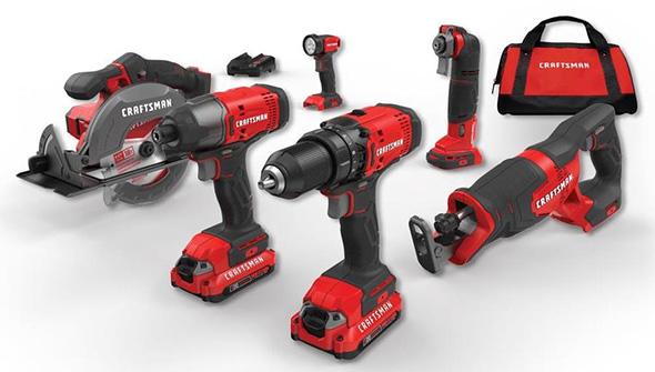 Craftsman 20V 6-Tool Cordless Power Tool Combo Kit