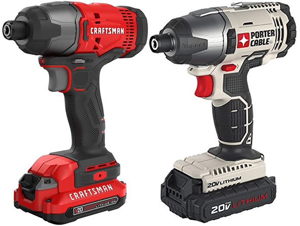 Craftsman 20V Max vs Porter Cable Cordless Power Tool Comparison