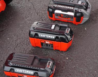 Craftsman V60 battery lineup