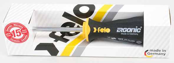 Felo Ergonic Screwdriver Packaging Box
