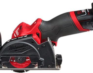 Milwaukee M12 Fuel Cut-Off Tool with Dust Shroud