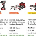 Porter Cable 20V Max at Lowes After Craftsman Release