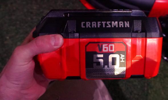 Craftsman V60 5Ah battery