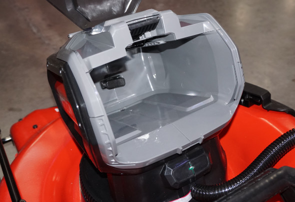 Craftsman V60 Lawn Mower Battery Compartment