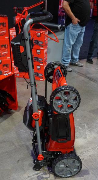 Craftsman V60 Self Propelled Lawn Mowers Upright Storage