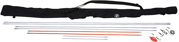 Klein Splinter Guard Fish and Glow Rod Kit with Bag
