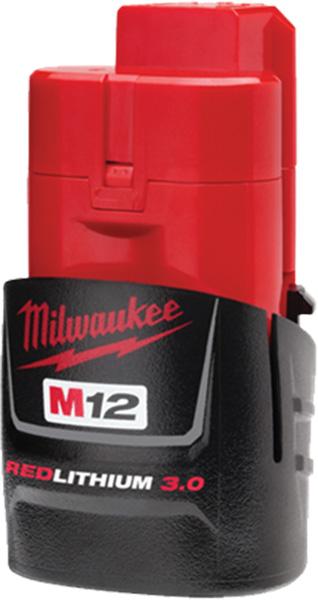 Milwaukee M12 3Ah Compact Battery