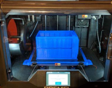 Dremel Digilab 3D Printer Tardis Print