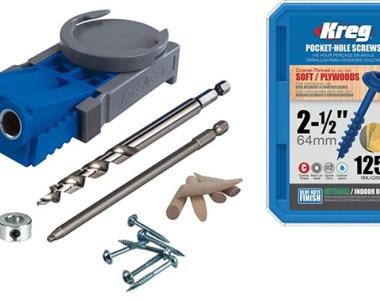 Kreg R3 Pocket Hole Jig with Free Box of Screws Walmart Deal Bundle