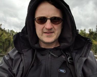 New Milwaukee Heated Hoodie underneath my rain gear