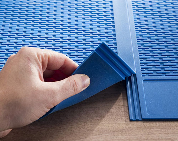 Rockler Silicone Project Mat XL Interlocking