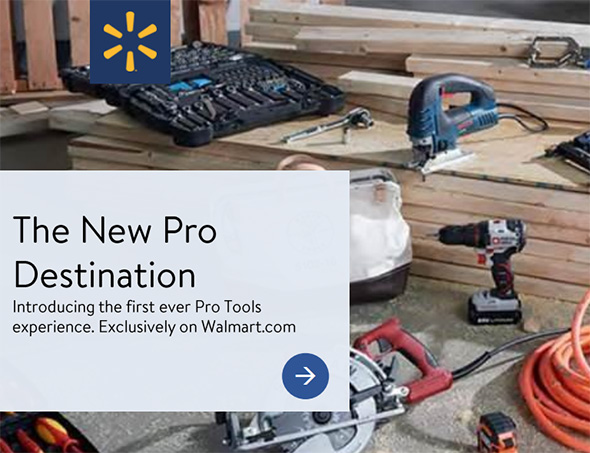 Walmart Pro Tools Experience Launching 2018