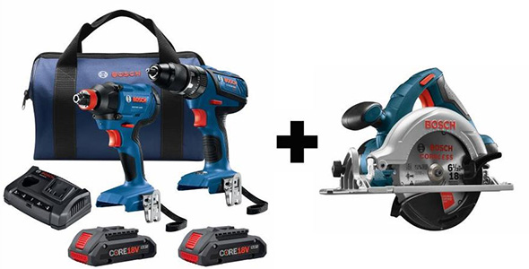 Bosch Black Friday 2018 Cordless Power Tool Bonus Offer