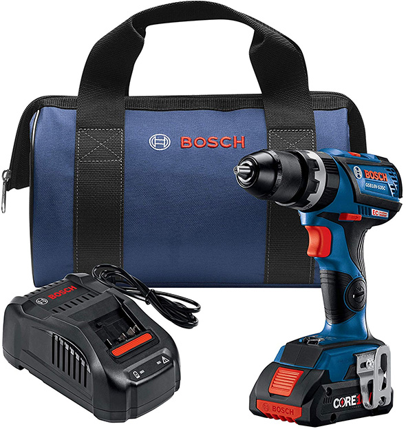 Bosch Bosch GSB18V-535CB15 Brushless Hammer Drill Kit with CORE18V Battery