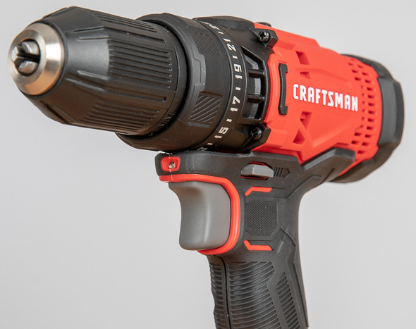Craftsman V20 Cordless Drill Driver CMCD700 Trigger and LED