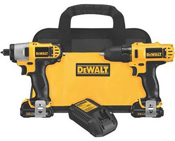 Dewalt 12V Max DCK211S2 Drill and Impact Driver Combo Kit