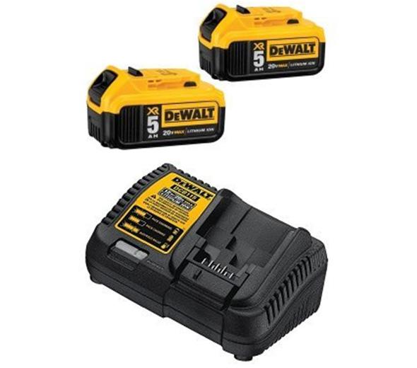 Dewalt 20v battery charger specs