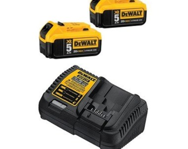 Dewalt 20V Max 5Ah Battery 2-Pack and Charger