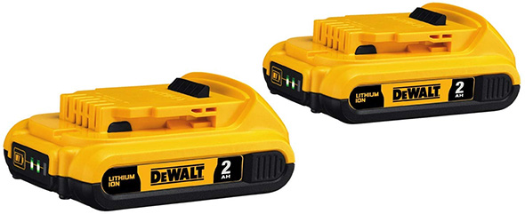 Dewalt DCB203 Compact Battery 2-Pack