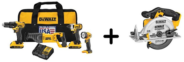 Dewalt DCK420D2DCS391B Cordless Power Tool Combo Kit with Bonus