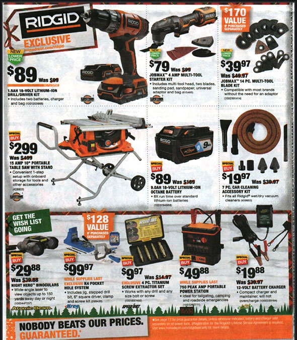 Home Depot Black Friday 2018 Tool Deals Page 10