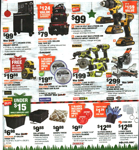 Home Depot Black Friday 2018 Tool Deals Page 16