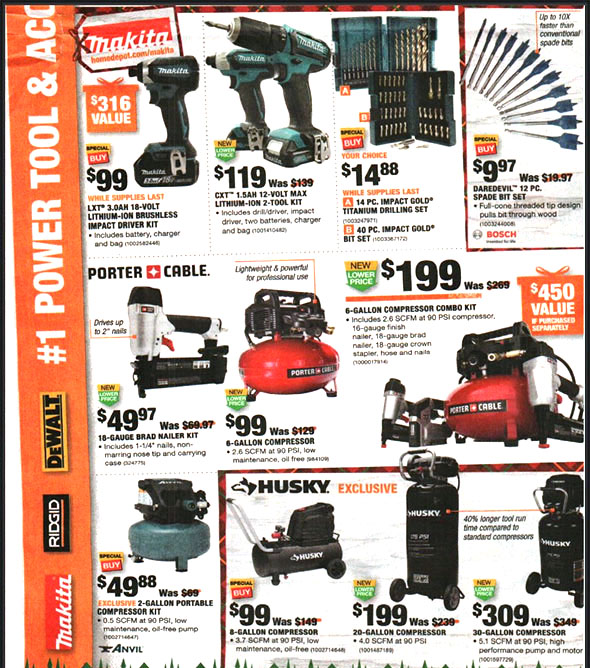Home Depot Black Friday 2018 Tool Deals Page 6
