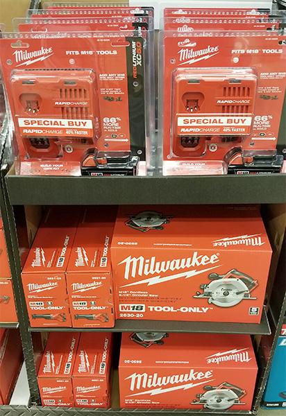 Home Depot Pro Black Friday 2018 Milwaukee M18 Saw and Starter Set Deals