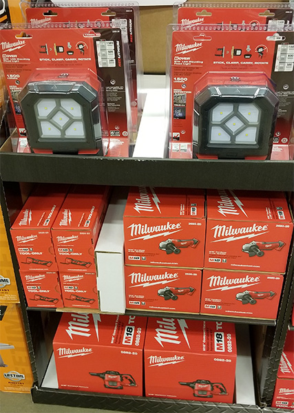Home Depot Pro Black Friday 2018 Milwaukee M18 Tools and LED Lights