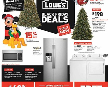 Lowes Pre Black Friday 2018 Tool Deals Page 1
