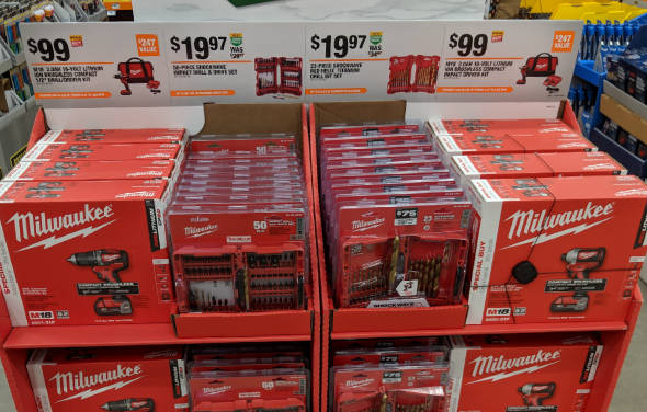 Milwaukee Cordless Tools Special Buy at Home Depot 2018