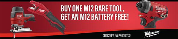 Ohio Power Tool Milwaukee Deals Holiday 2018 M12 Bonus Battery