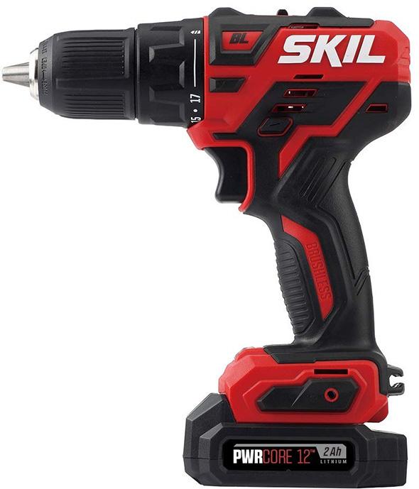 Skil PWRCore 12 Brushless Cordless Drill Kit Deal 2018
