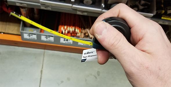 Anvil 6-foot Tape Measure Keychain Blade Wobble