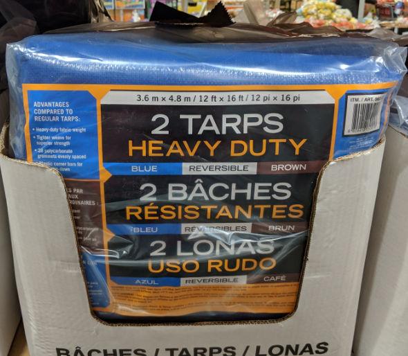 Heavy Duty Tarps at Costco