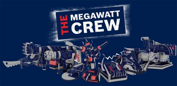 Bosch Megawatt Crew Cordless Power Tool Family