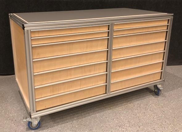 My Journey To An Organized Shop - Faztek Aluminium 7 drawer cabinet