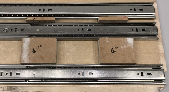 Journey to an Organized Workshop Part 4 - Drawer Spacers in Action
