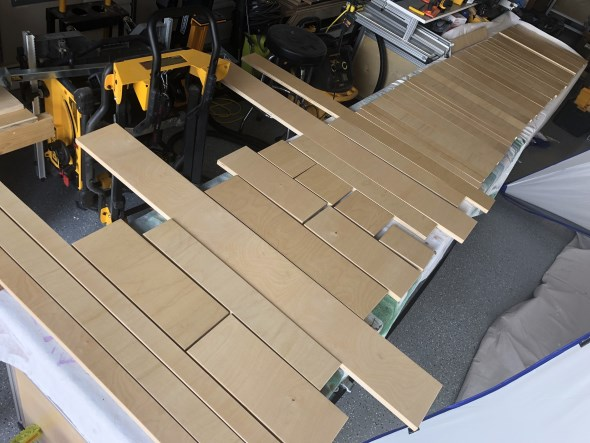 Journey to an Organized Workshop Part 4 - Sanding the drawer faces