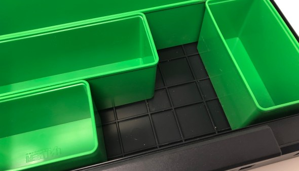 Auer Packaging Assortment Boxes - Bin Locking Grid