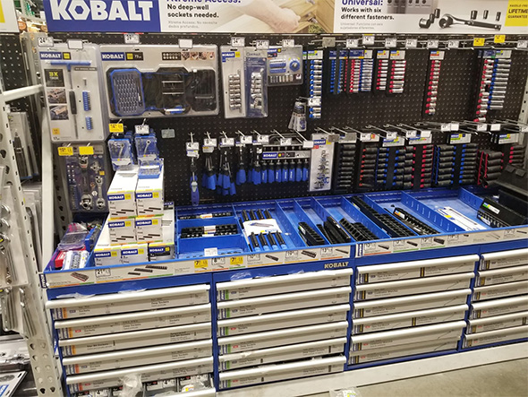 Kobalt Tools at Lowes March 2019