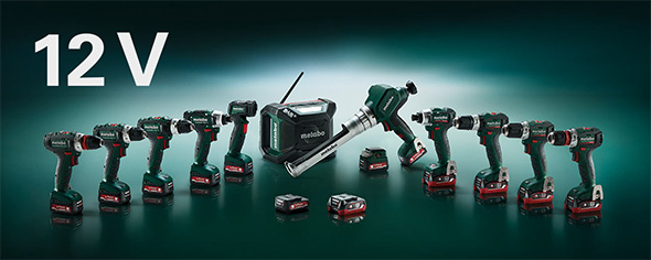 Metabo 12V Cordless Power Tool Launch