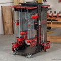 Woodpeckers Mobile Clamp-it Rack Fully Loaded