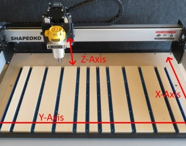 Carbide 3D Shapeoko 3 XL CNC - Z Y X axis basics