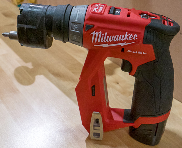 Milwaukee M12 Fuel Cordless Installation Drill Driver Tool with Offset Chuck