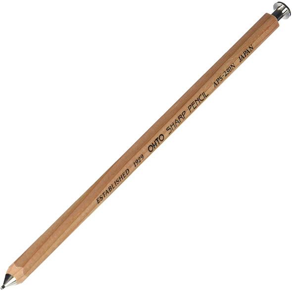 Ohto Sharp Wood Mechanical Pencil Natural