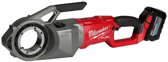 Milwaukee 2874 M18 Fuel Cordless Pipe Threader with HD Battery