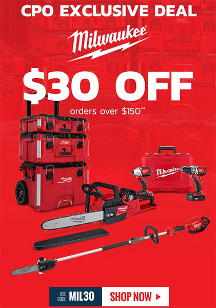 CPO Labor Day 2019 Milwaukee Tool Deals