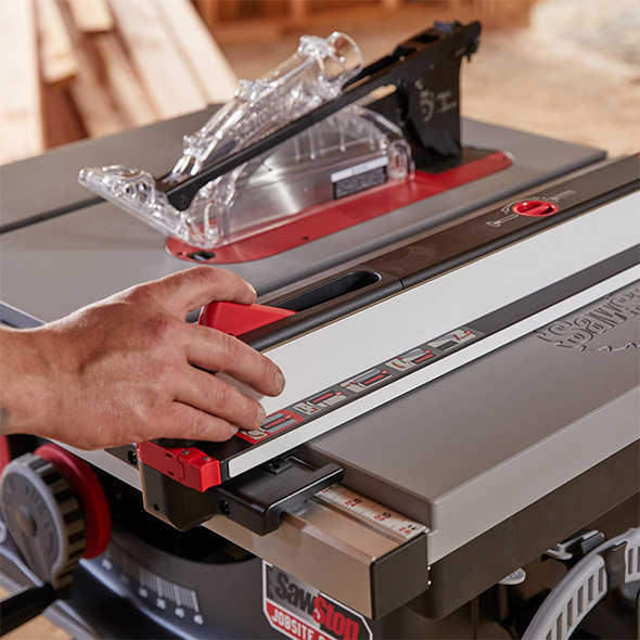 SawStop Jobsite Saw Pro Table Saw Fence System